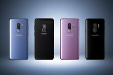 Samsung Galaxy S9+ SM-G965U1 64GB Blue  (T-mobiel AT&T Unlocked) A Heavy burn