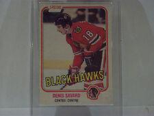 Denis Savard rc 1981-82 O'Pee-Chee #63 very good condition