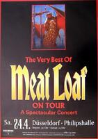 """MEAT LOAF TOUR POSTER / KONZERTPLAKAT """"THE VERY BEST TOUR"""""""