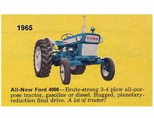 1965 Ford 4000 Tractor  Refrigerator Magnet