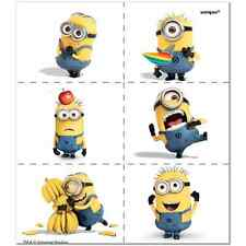 24 Despicable Me 2 Minion Temporary Tattoos Party Bag Fillers