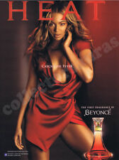 Beyonce's First Fragrance HEAT advertisement - A4 size high quality print ONLY