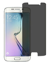 Blickschutzfolie Samsung Galaxy S6 Edge Displayschutz Folie Antispy schwarz matt