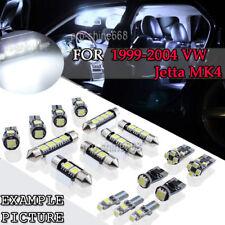11x 6000K White LED Interior Light For 1999 - 2004 Volkswagen VW Jetta MK4 PQ