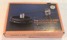 Logan Mat Cutter #201 3 Step Oval & Circle Cutter Board Beveled Round 324 & #302