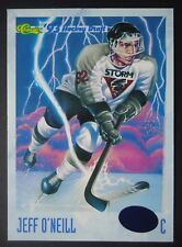 NHL 115 jeff o 'Neill Guelph Storm Classic Hockey Draft 1993/94
