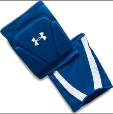 Nwt Under Armour HeatGear Ua Strive Unisex Volleyball Kneepads Blue Size Medium