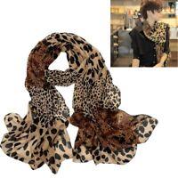 New Fashion Women Fashion Leopard Pattern Animal Print Shawl Scarf Wrap