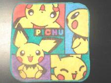 Nintendo Pokemon Pichu Wash Cloth Towel Place Mat Birthday Decoration Bandai