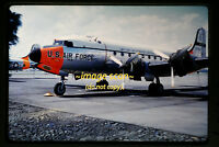 1961 USAF MATS WEATHER C-54 Skymaster Aircraft in Japan, Orig. Slide a2b
