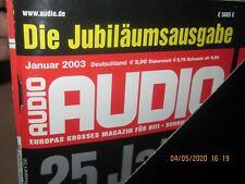 Audio Hifi Magazin Zeitschrift ,kompletter Jahrgang 2003 Heft 1-12