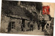 CPA  Langeais -Maisons Troglodytes  (228648)