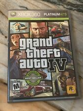 New listing Grand Theft Auto Iv *Xbox 360 Game* Gta4 With Manual & Map