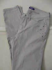 MEXX SKINNY JEANS Leggings stretch studs TROUSERS SIZE 10 long