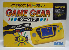 CONSOLE SEGA GAME GEAR YELLOW LIMITED EDITION HGG-3210-YELLOW BOXED JAPAN RARE