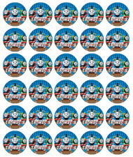 Thomas The Tank Engine Personalised Cupcake Toppers Edible Wafer Paper FairyCake