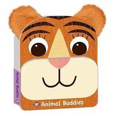 Animal Buddies Ser.: Tiger - Animal Buddies by Roger Priddy (2015, Board Book)