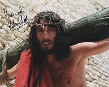 JESUS OF NAZARETH signed 10x8 - ROBERT POWELL as JESUS