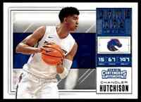2018-19 PANINI CONTENDERS GAME DAY BULLS CHANDLER HUTCHISON RC BOISE STATE