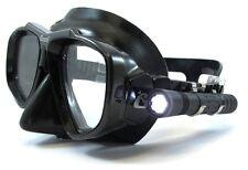LED Taucherlampe leichte Maskenlampe Aquatec Headlight Batteriebetrieb