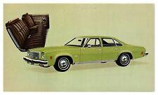 1974 Chevrolet Malibu Classic Colonnade Hardtop Sedan Postcard *5C