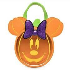 Disney Halloween 2019 Minnie Mouse Ears Pumpkin Glow Trick or Treat Bag Bow