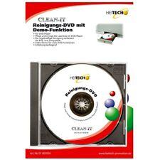 Heitech Reinigungs-DVD mit Demo-Funktion für DVD-Player DVD-Laufwerk DVD-Brenner