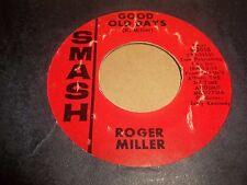 "ROGER MILLER "" ENGLAND SWINGS "" 7"" SINGLE U.S. RELEASE SMASH EXCELLENT 1965"