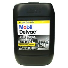 MOBIL DELVAC XHP ESP M 10W40 DA 20 L OLIO MOTORE DIESEL CAMION FURGONE TRATTORE