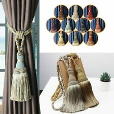2 Pc Tassel Curtain Tieback Home Decoration Curtains Rope Bandage Hanging Balls