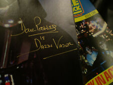 More details for star wars esb poster signed by dave prowse darth vader with exact photo proof