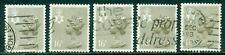 Great Britain N. Ireland Sg-Ni42, Scott # Nimh-28, Used, 5 Stamps, Great Price!