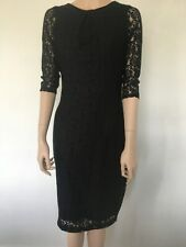 Dorothy Perkins 3/4 Sleeve Lace Dress Petite Size 14 New with Tags