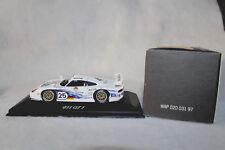 Minichamps 1/43rd Scale Porsche 911 GT1, #25, Mobil1-Warsteiner