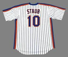 2e664a04f4c RUSTY STAUB New York Mets 1984 Majestic Cooperstown Home Baseball Jersey
