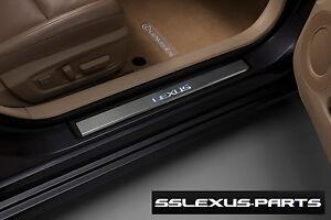 Lexus ES300H 2013-2018 OEM Genuine Stainless ILLUMINATED DOOR SILLS PT413-33131