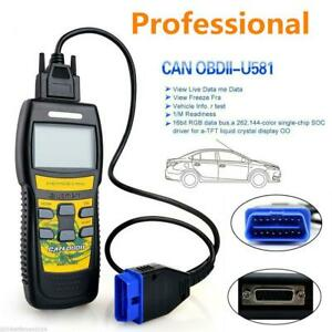 Car Truck U581 OBD2 OBDII EOBD Code Reader Scanner Auto Diagnostic Scan Tool