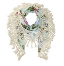 Steve Madden Keep Blooming Oversize Scarf/Wrap