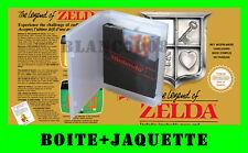 Boite / boitier NINTENDO NES the legend of ZELDA