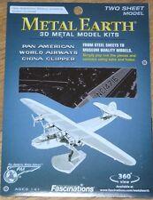 Pan American World Airways China Clipper Metal Earth 3D Laser Cut Model MMS103