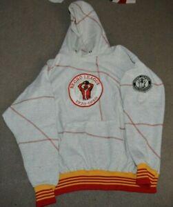 Vtg Negro League Baseball Players Association Heavyweight Hooded Sweatshirt