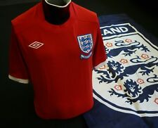 Inglaterra Camiseta de fútbol visitante 2010 J. Cole Umbro Copa del Mundo Sudáfrica Talla 40