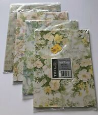 Vintage Wedding Gift Wrapping Paper Lot of 4 NOS