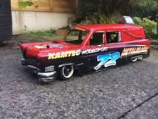 NEW 67 Cadillac Fleetwood Hearse RC Banger Racing Caddy Hurst  XL body Kamtec