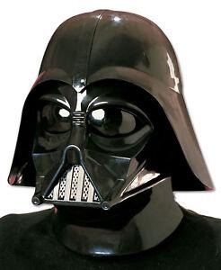 DARTH VADER Helmet Mask Don Post Version 2pc Star Wars Rubies Official Licensed