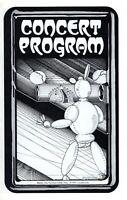 JOURNEY/BRYAN ADAMS 1983 FRONTIERS TOUR CONCERT PROGRAM-STEVE PERRY-MEADOWLANDS