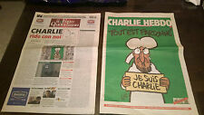 """Libri/Giornali""""IL FATTO QUOTIDIANO+CHARLIE HEBDO 14 GEN. 2015 JE SUIS CHARLIE"""""""