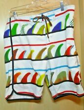 Billabong Donovan Frankenreiter White Board Shorts 34 Recycler Series WITH KEY