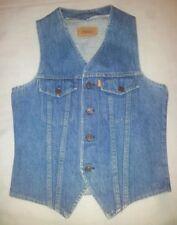 Denim Original Vintage Vests for Women
