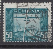 Romania STAMPS AVIATION FUND PLANES ERROR USED POST